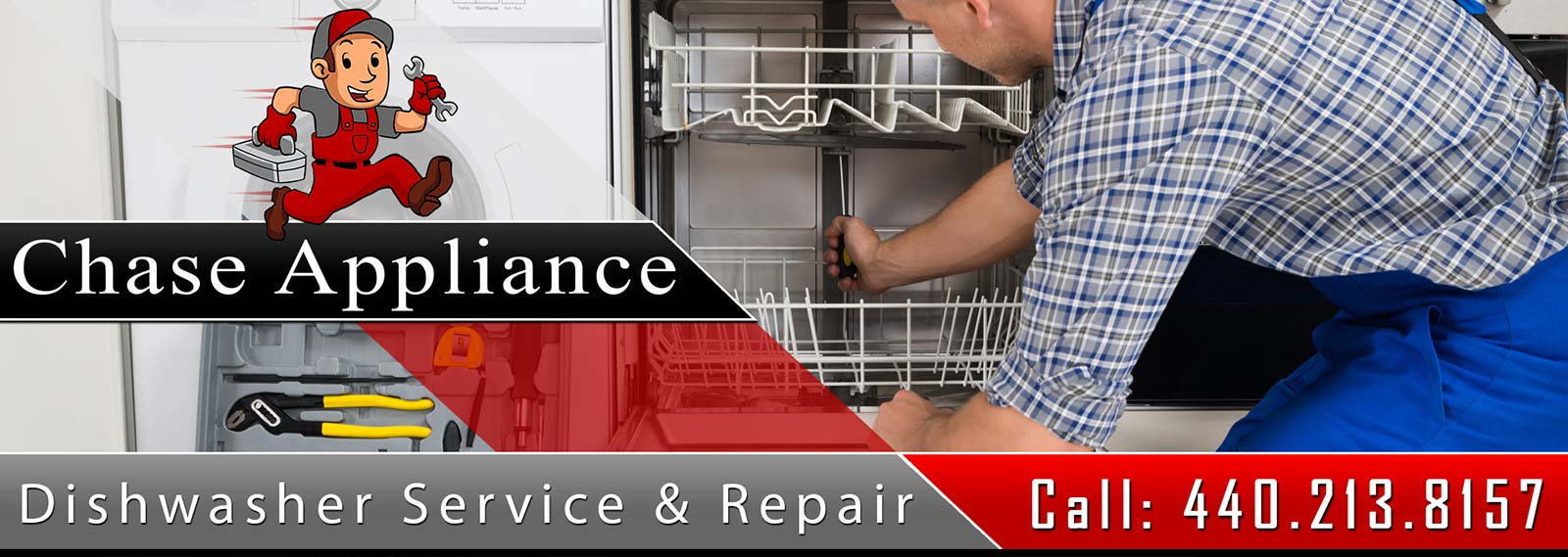 Residential Dishwasher Repair and Service in Northern