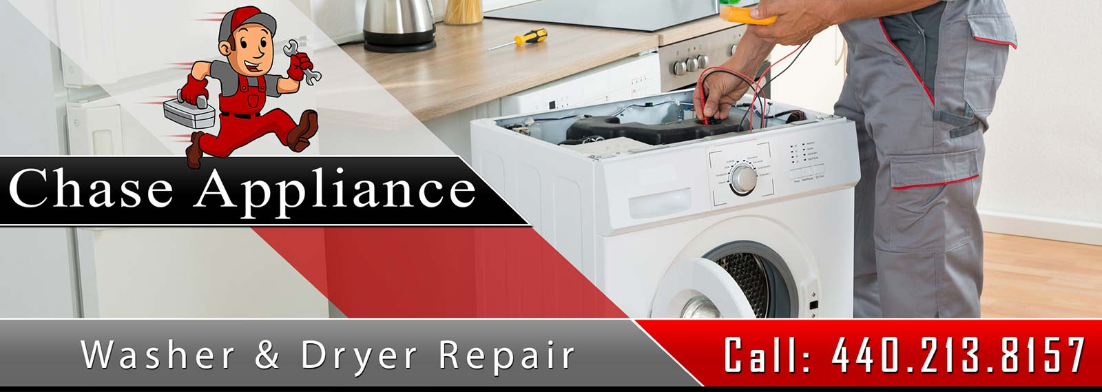 Washer and Dryer Appliance Repair and Service