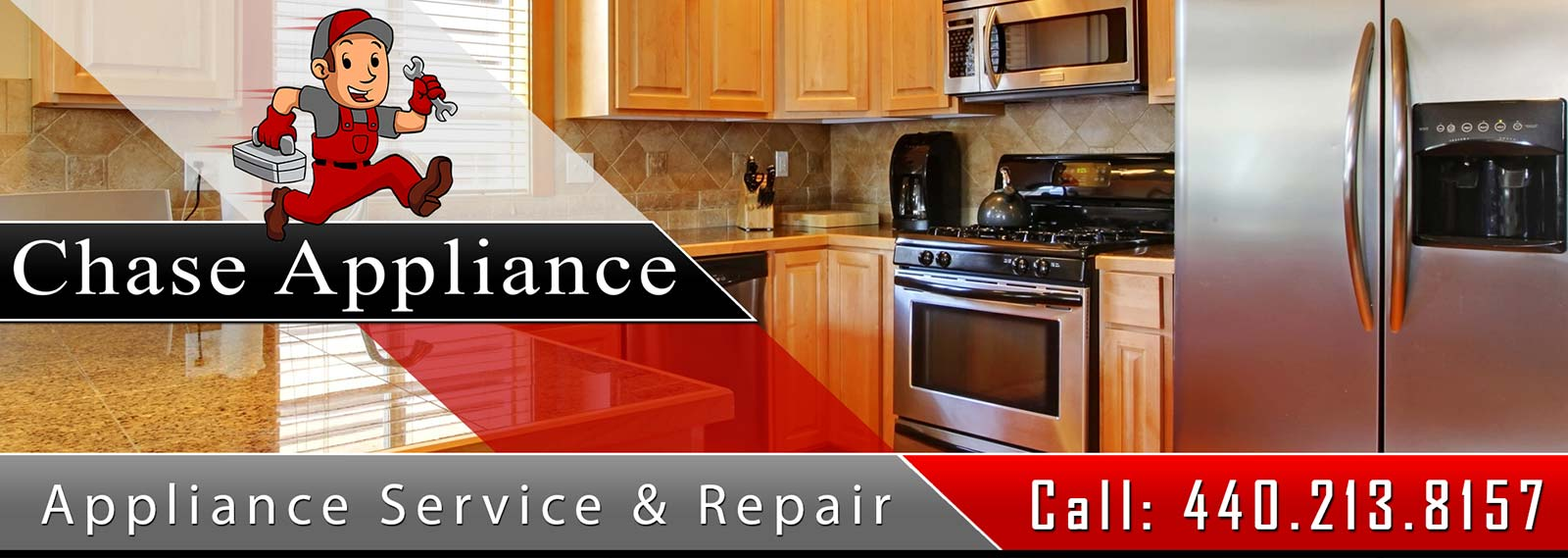 Appliance Repair and Service in Northern Central Ohio